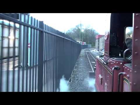 Isle of Man Steam Railway Strike Trains