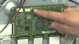 Samsung 2012 PDP Power On Sequence and Logic Board Test Video