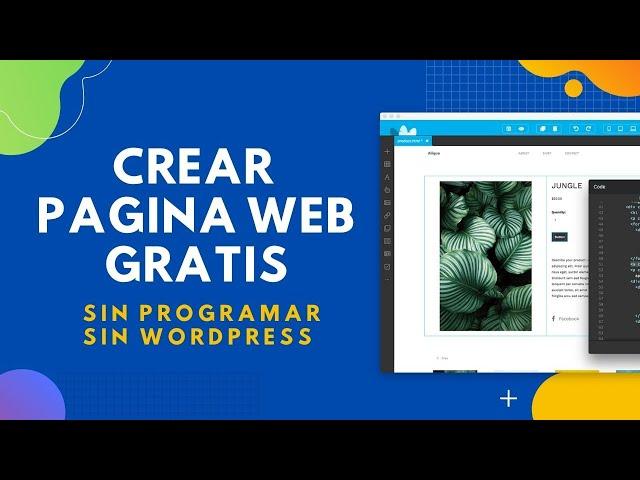 ➡️ Crear pagina web fácil y gratis 2021, sin ser programador!! 🚀