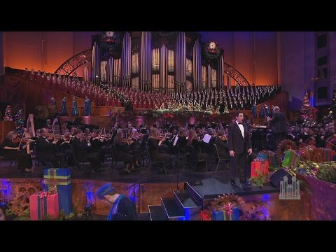 Angels from the Realms of Glory - Santino Fontana and the Mormon Tabernacle Choir