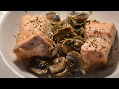 saumon-et-champignons-de-paris-recette-cookeo