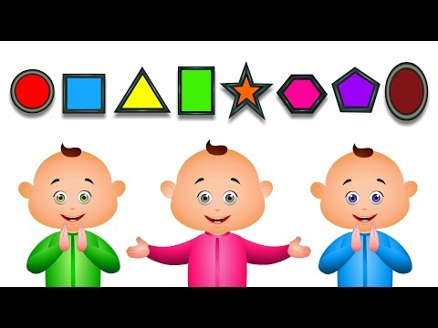 Thumbnail: Learn Shapes For Babies And Many More | JamJammies Fun Songs | Nursery Rhymes Compilation