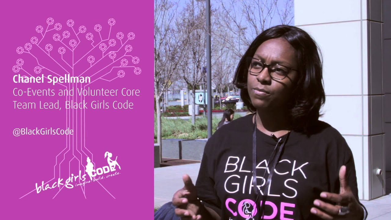 Chanel Spellman, Blackgirlscode  The Women In Tech -6128