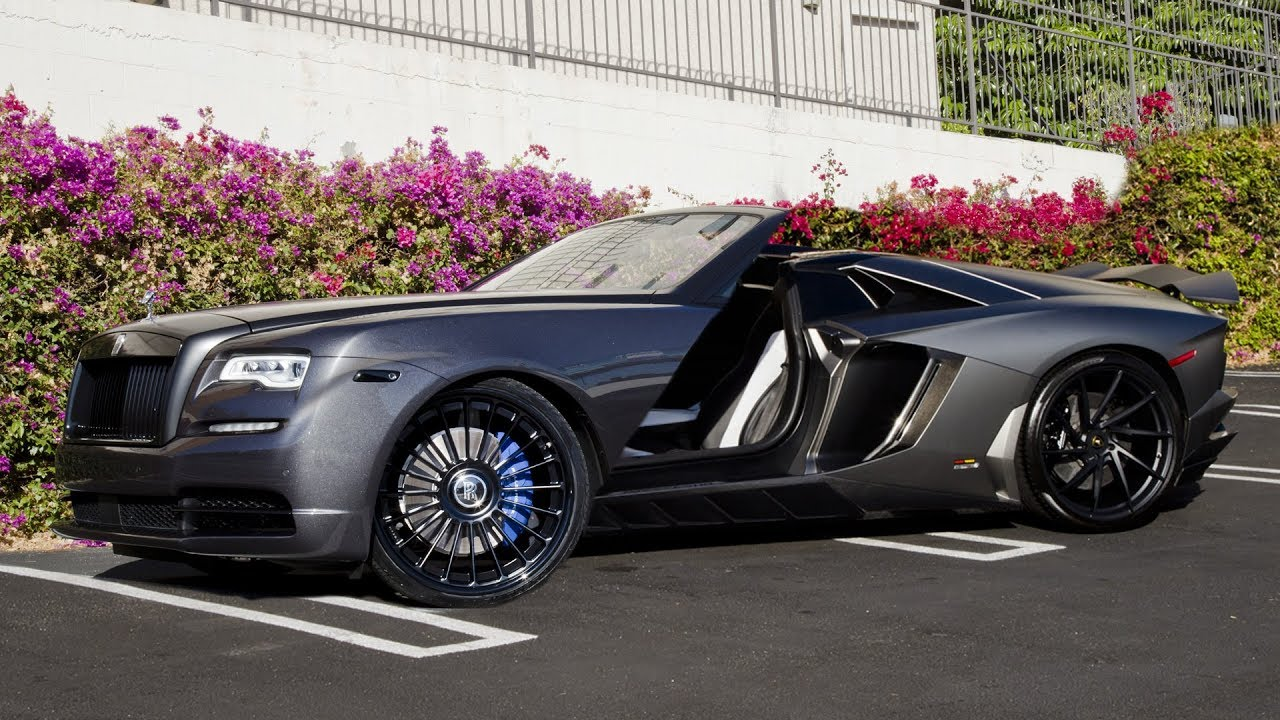RDBLA Rolls Royce Dawn Transformation LA Auto Show