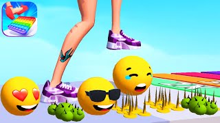 TIPPY TOE 3D gąme HIGH SCORE 👸🌈👠 Gameplay All Levels Walkthrough iOS, Android New Game Full AppLvl