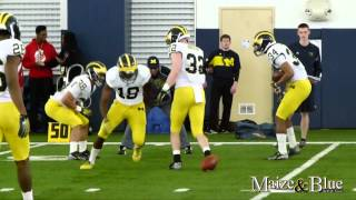 Michigan Football Spring Practice 2015
