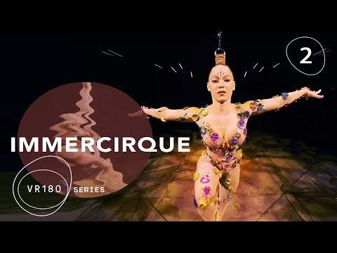 VOLTA Hair Suspension in VR180 | IMMERCIRQUE Episode 2 | Cirque du Soleil Artist Danila Bim