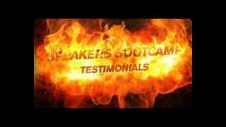 Speakers Bootcamp Testimonials