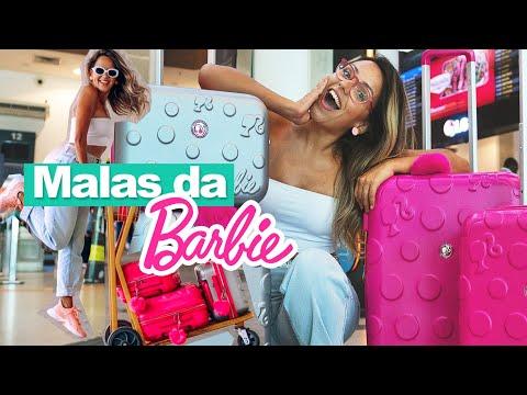 MALA DE VIAGEM: COMO ESCOLHER A MALA IDEAL? | Mala de mão ou despachada? | Barbie + Prefiro Viajar