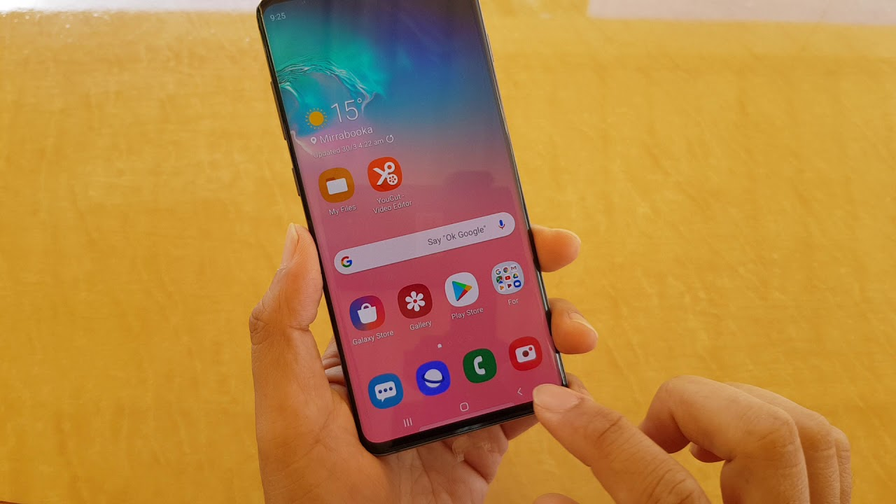 Samsung Galaxy S10 / S10+: How to Enable / Disable Play Tone When Call  Connects