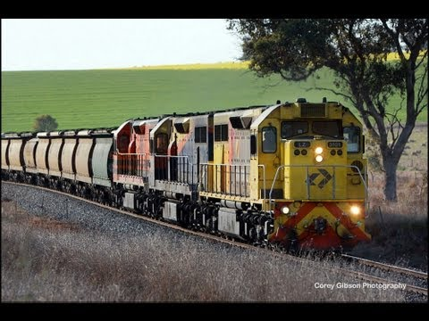 Chasing QRN Grain in New South Wales - Australian Trains