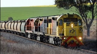 Chasing QRN Grain in New South Wales - Australian Trains
