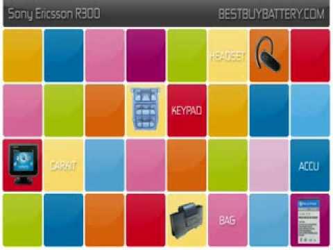 Sony Ericsson R300 www.bestbuybattery.com