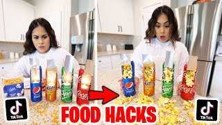 We Tested VIRAL TikTok FOOD HACKS... ***DELICIOUS!***