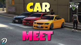 Any Car Meet Gta 5 Online LIVE - [Road To 4.9K Subs] - Check The Description For Join