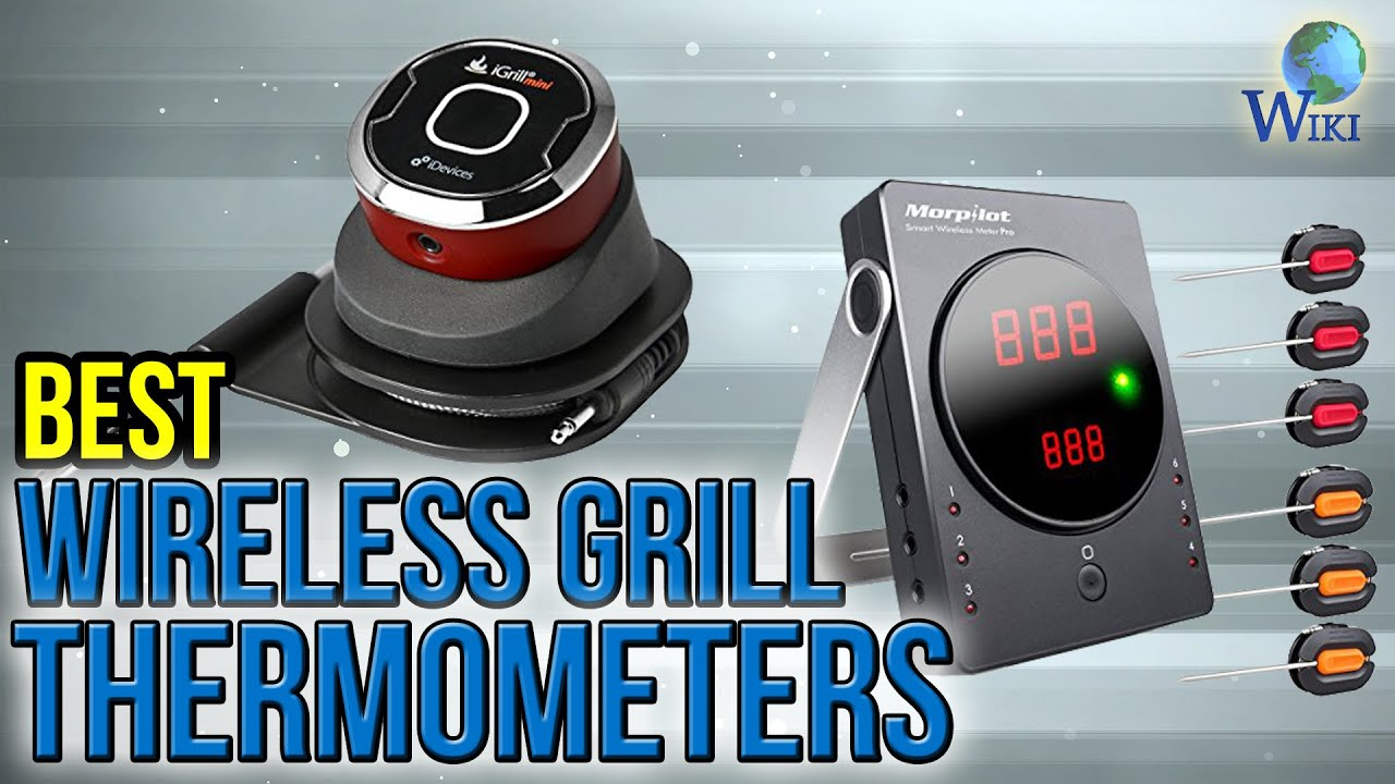 8 Best Wireless Grill Thermometers 2017 - YouTube