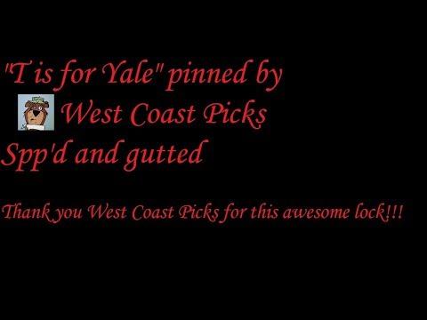 Взлом отмычками Yale   (477) T is for Yale (pinned by West Coast Picks) Spp
