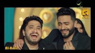 100 وش - تامر حسني - احمد شيبا - دياب - مصطفي حجاج