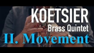 KOETSIER - Brass Quintet - Andantino - Primebrass [4K]