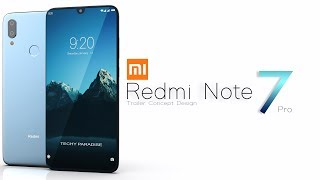 Xiaomi Redmi Note 7 Pro 2019 Trailer Concept Design Official introduction !
