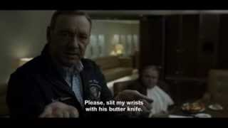 House of Cards S3 E9 – Please slit my wrists with this butter knife