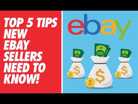 LIVE: TOP 5 TIPS NEW EBAY SELLERS NEED TO KNOW!
