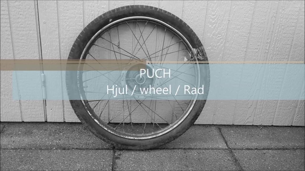 puch hjul