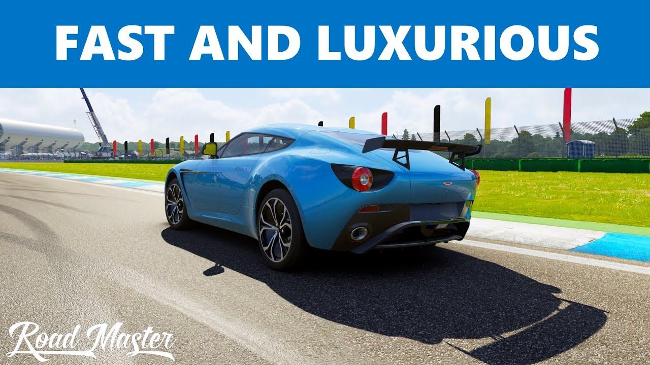 Forza Aston Martin V Zagato Top Speed YouTube - Aston martin v12 zagato specs