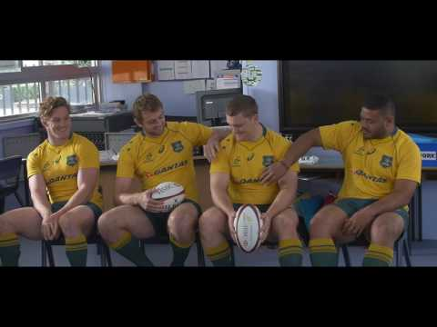 Wallabies at School - HSBC