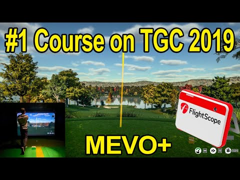 Top Rated Course In TGC 2019 - Flightscope Mevo+ Golf Simulator - MUST SEE