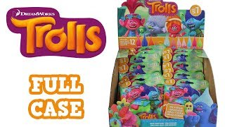 Dreamworks Trolls Season 7 Blind Bags Full Case Unboxing Color Change Trolls Opening Entire Case
