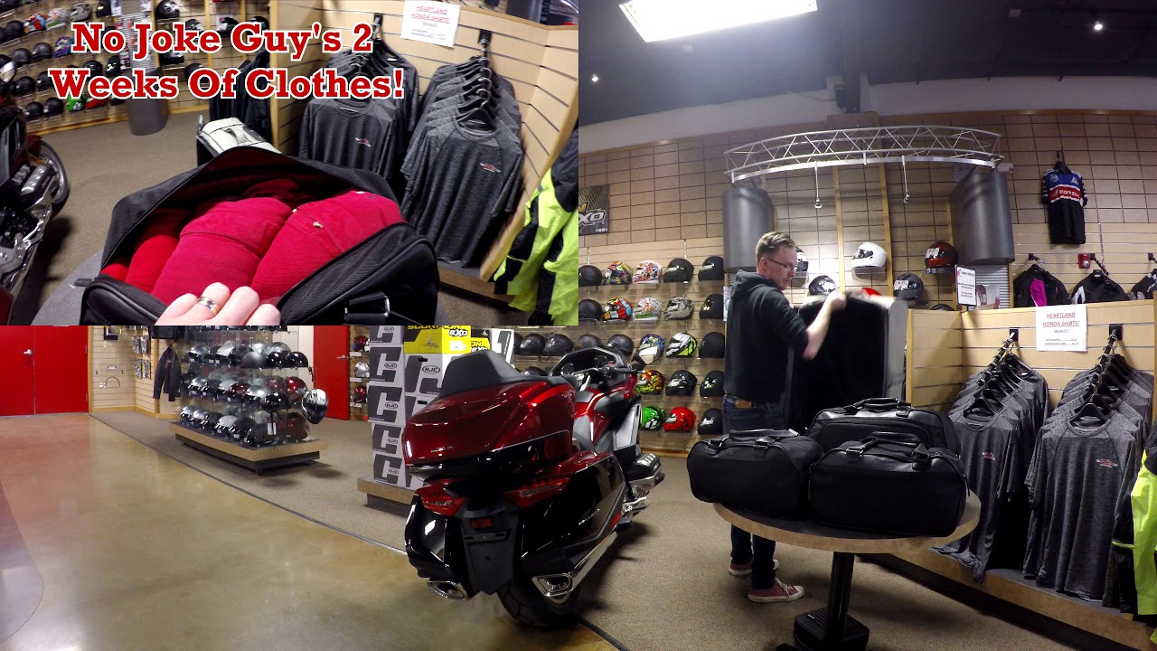 How Much Can I Fit In My New Goldwing? Heartland Honda