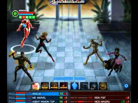 Rescue & Captain Marvel - Marvel Avengers Alliance [MAA]