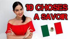 10 CHOSES A SAVOIR avant de voyager au Mexique ♥