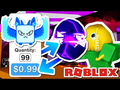WEIRD GUY SELLS ME TONS OF CHEAP SECRET PETS IN BUBBLE GUM SIMULATOR.. (ROBLOX)