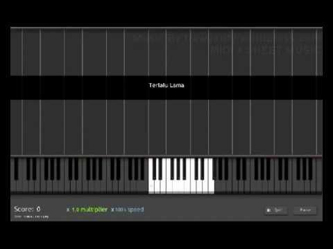 Vierra Terlalu Lama Piano