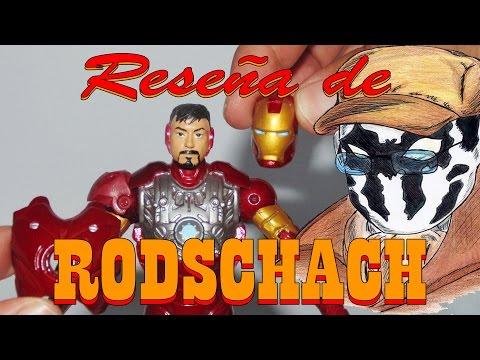 Reseña de Rodschach: Iron Man Serie 1 - Iron Man Prototipo