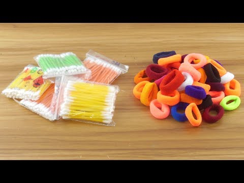 wow !! Best craft with cotton buds For home decor | DIY arts and crafts | DIY cotton buds