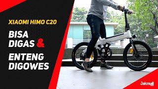 Sepeda Elektrik Xiaomi HIMO C20 Unboxing + Review Indonesia | JakReview | Jakmall.com