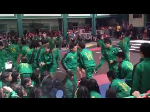Jamaica freshmens of St. John of Beverly Cheer dance competition 2016