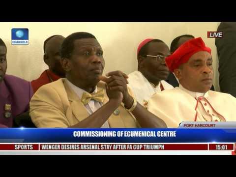 Commissioning Of Ecumenical Center Pt. 11