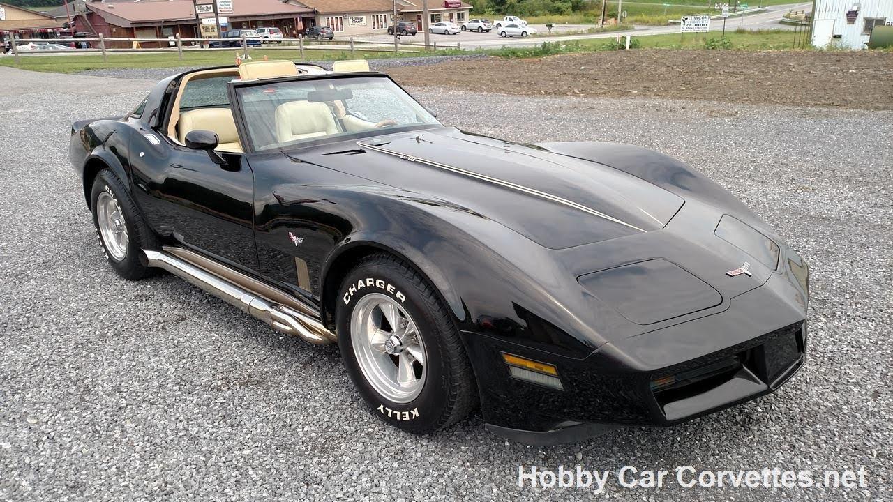 1980 Corvette For Sale >> 1980 Black Corvette Doeskin Leather Interior For Sale Youtube