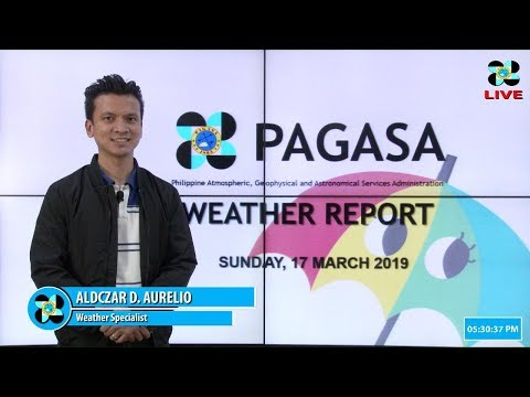 Public Weather Forecast Issued at 4:00 PM March 17, 2019