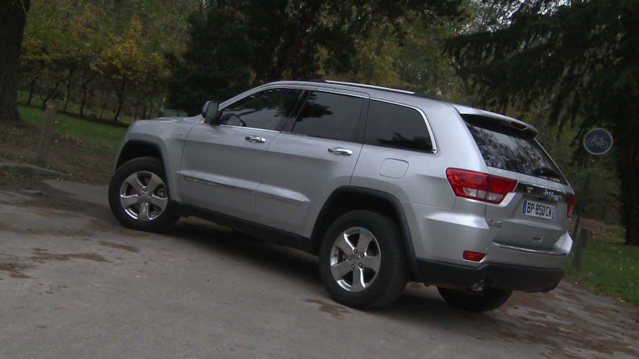 essai jeep grand cherokee v6 3 0 crd limited 241ch youtube. Black Bedroom Furniture Sets. Home Design Ideas