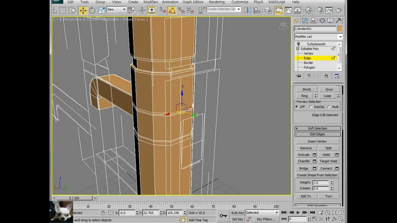 3ds Max/ Modeling of Washbowl Faucet - YouTube