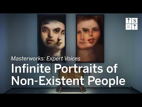 Subastan obra de arte creada con inteligencia artificial que reproduce retratos