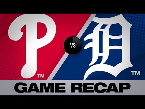 Hoskins' go-ahead hit propels Phillies in 15 | Phillies-Tigers Game Highlights 7/23/19