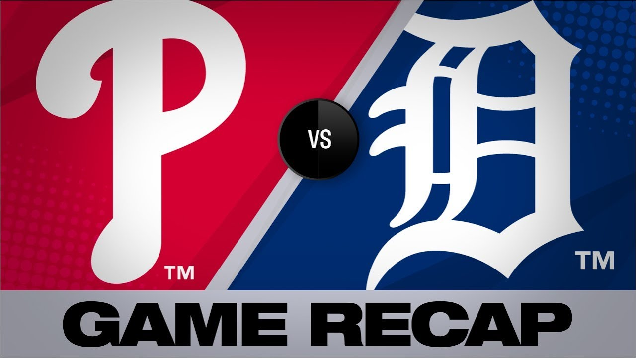 Detroit Tigers vs. Philadelphia Phillies: How to watch today at Comerica Park
