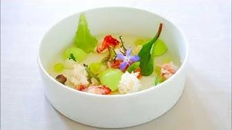 Tasting Menu at 3 Michelin Star Restaurant Cheval Blanc in Basel, Switzerland