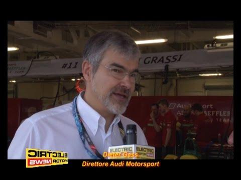Dieter Gass, Audi Motorsport e la Formula E – Electric Motor News in Formula E